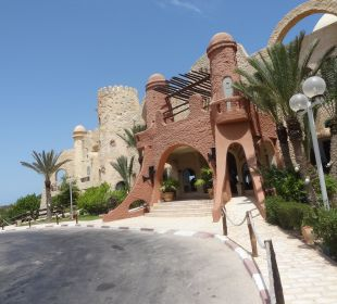 Hoteleingang Rimel Beach Resort  (existiert nicht mehr)