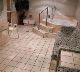Spa-Wellnessbereich (Jacuzzi - kostenpflichtig) Hotel Schlehdorn