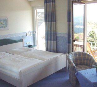 Zimmer mit Balkon und Aussicht über das Rheintal Landgasthaus Blücher