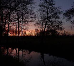 Dezemberabend am Fließ NaturApartments & LandHaus Stauensfließ