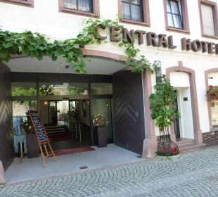 Außenansicht Ringhotel Central