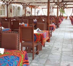 Terrasse im Hauptrestaurant