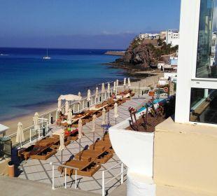 Blick vom Balkon zum Pool Hotel XQ El Palacete