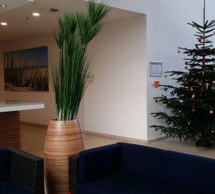Eingangsbereich Carat Golf & Sporthotel Residenz