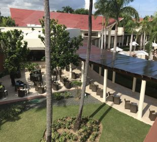 Ausblick vom Treppenhaus  Secrets Royal Beach Punta Cana