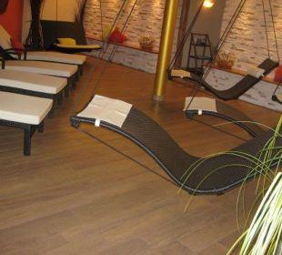 Ruheraum im Wellnessbereich Hotel Zirmerhof