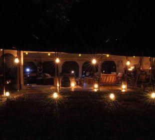 Aufenthaltszelt/Bar Mara Bush Camp