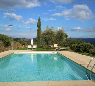 Obere Poolanlage Hotel & Wine Resort Villa Dievole
