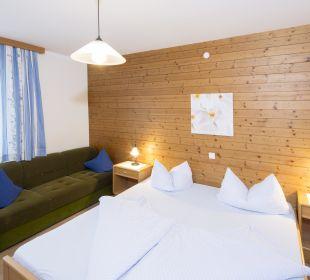Familienappartement Alpbachtal (52 m2) Schlafzimmer Angerer Familienappartements Tirol