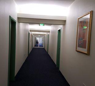 Hotelflur AHORN Seehotel Templin