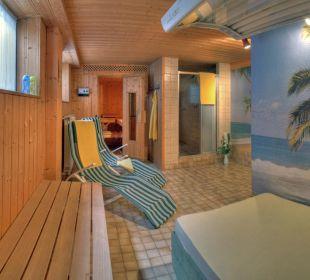 Sauna und Solarium Kressenlehen FeWo