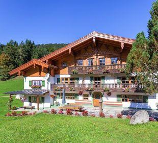 Bauernhaus, Frontansicht Pension Auf'm Feggenlehen