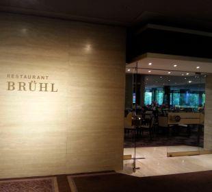 Eingang Restaurant Brühl Hotel The Westin Leipzig