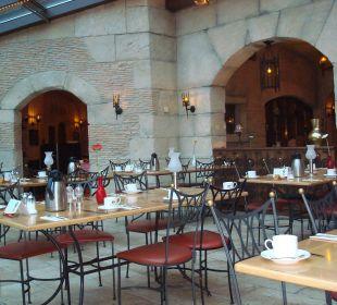 Rest. Wintergarten - Frühstück Hotel Colosseo Europa-Park