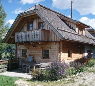 Fereinewohung moderne Almhütte Almgasthof Baumschlagerberg