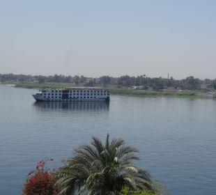 Blick auf den Nil Steigenberger Hotel Nile Palace
