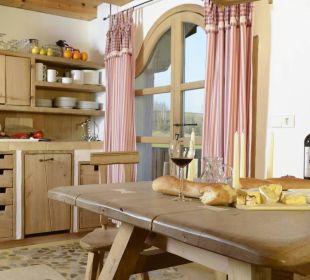 Ferienwohnung Brennerei Küche Hotel Hagerhof