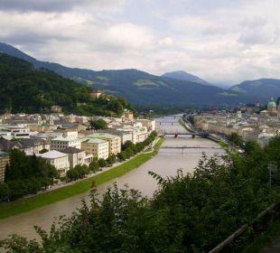 Blick auf die Stadt Hotel Schloss Mönchstein