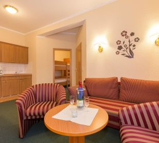 3-Raum-Appartement Aparthotel Villa Osada