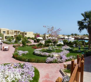 Gartenanlage Three Corners Fayrouz Plaza Beach Resort