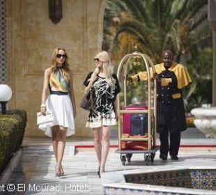 Entrée Hotel El Mouradi Palm Marina