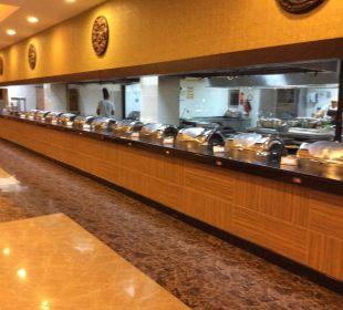 Speisesaal vor der Öffnung  Siam Elegance Hotels & Spa