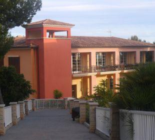Blick auf das Restaurant (oben) Hotel Don Antonio