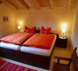 Schlafzimmer Ferienwohnung Haus Rosenrot