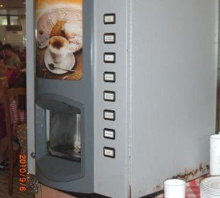 Kaffeautomat fällt auseinander