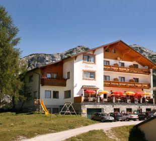 Sommeransicht Hotel Alpenrose