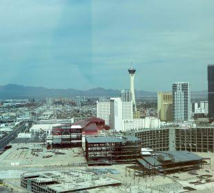 Blick aus dem Fenster Hotel Trump International