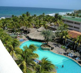 ausblick vom hotelzimmer Hotel Pueblo Caribe