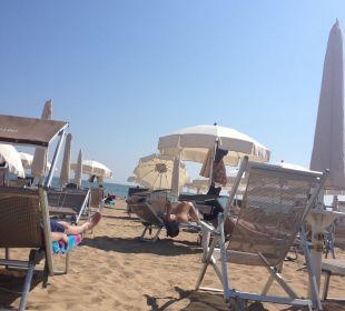 Eigener Strandabschnitt Hotel Eden Lido Di Jesolo