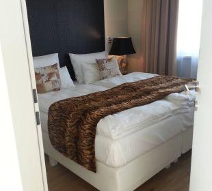 Masterbedroom Amedia Luxury Suites Graz