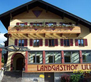 Bei Sonnenschein Hotel Landgasthof Lilie