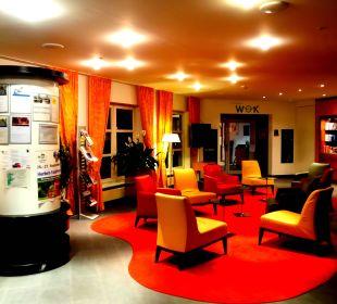 Teil der Lobby Hapimag Resort Winterberg