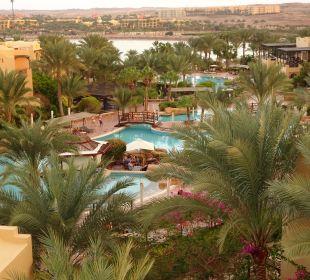 Blick vom Tower Hotel Steigenberger Coraya Beach