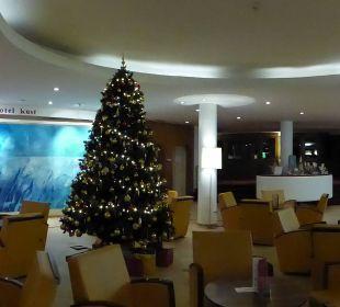Wunderb.Weihnachtsdeko Seehotel Rust
