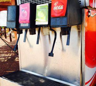 Der Getränkeautomat am Strand