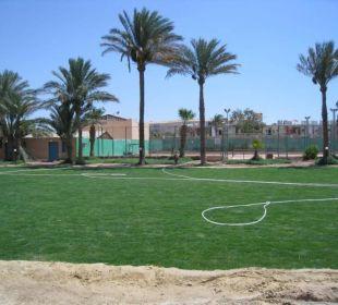 Neuer Fußballplatz