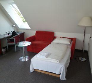 Wohnbereich Comfor Hotel Frauenstrasse