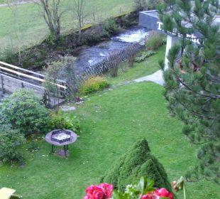 Die Gartenanlage Hotel Trattlerhof