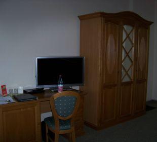 Schreibtisch Wellnesshotel Jagdhaus