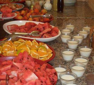 Frisches Obst zum Mittag- & Abendessen Club Big Blue Suite Hotel