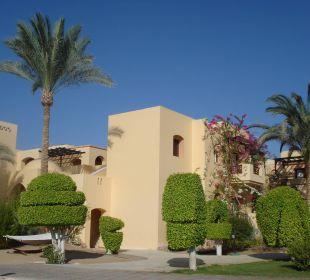 Schöne Bepflanzung Hotel Steigenberger Coraya Beach