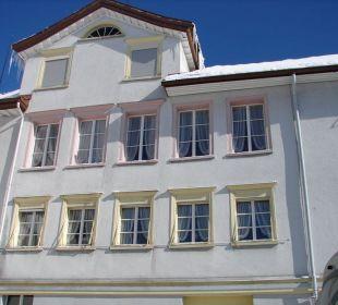 Unser Zimmer von außen Hotel Appenzellerhof