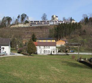Hotel vor der Burgmauer Hotel Schatz.Kammer Burg Kreuzen