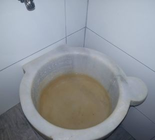 Dreckiges Becken (zum Füße waschen etc) SENTIDO Gold Island