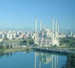 Ausblick auf die Moschee