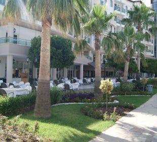 Aussenterasse Side Sun Bella Resort & Spa